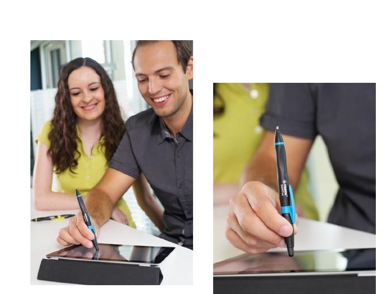 ergonomischer Kugelschreiber mit Touchscreen-Funktion